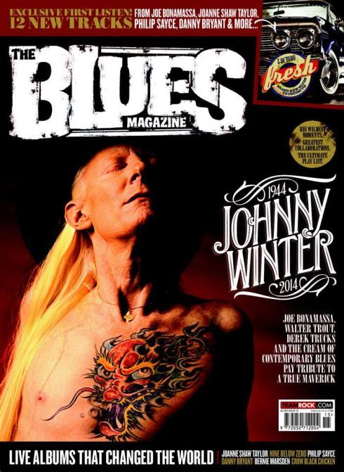 BLUES MAGAXZINE N.15 JIOHNNY WINTER 2014
