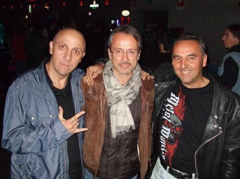 da sx a dx: Gianni della Cioppa, Beppe Riva, Stefano Ricetti - 2014