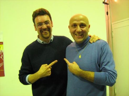 Gianni con Donato Zoppo