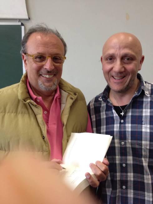 Gianni con Ivano Fossati