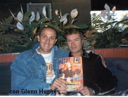 Gianni della Cioppa e Glenn Hughes