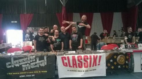 Gianni e lo staff di CLASSIX!
