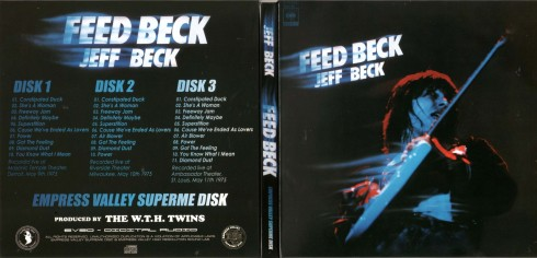 JEFF BECK Feed Back live 1975 EVSD  005