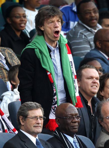 Mick Jagger allo stadio