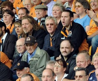 Robert Plant allo stadio