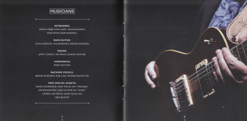 Bernie Marsden Shine cd cove