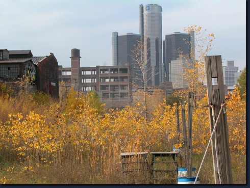 Detroit in autunno