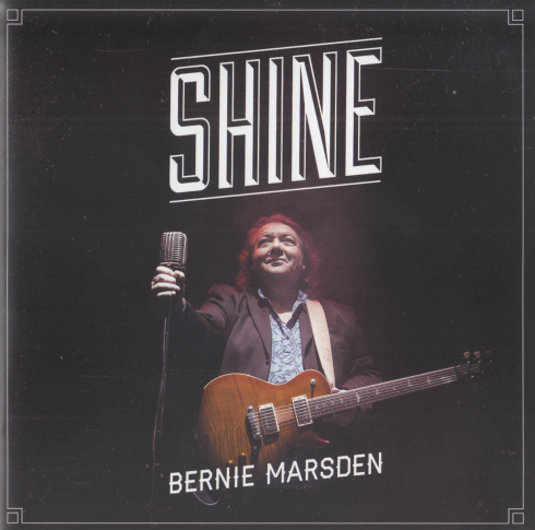 Bernie Marsden Shine cd cover
