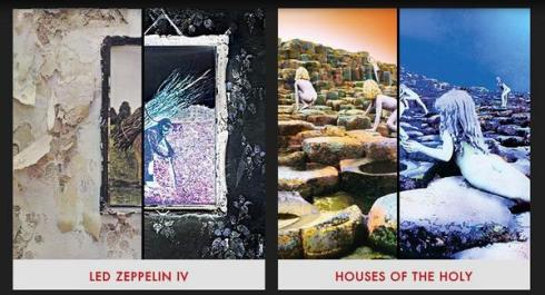 LED ZEP IV & HOUSE OF THE HOLY deluxe edition