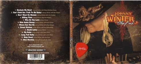 JOHNNY WINTER step back digipack cover  021