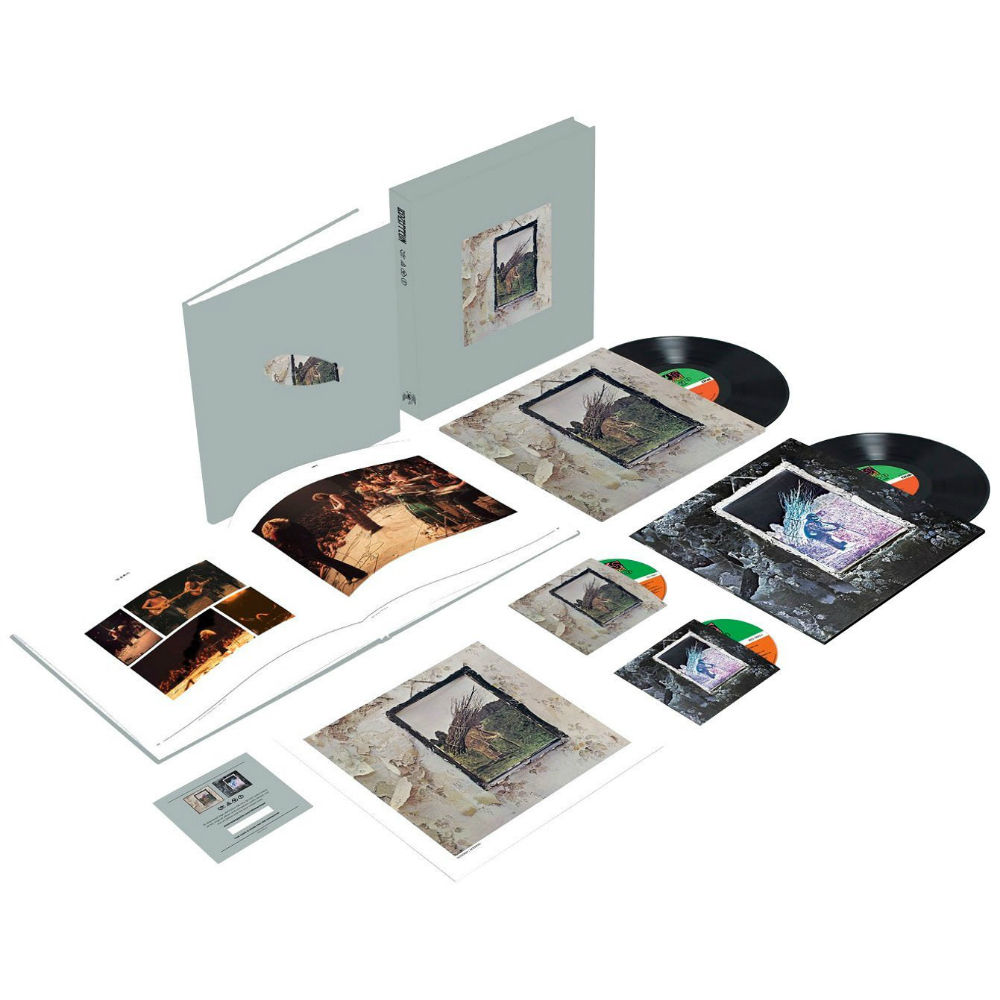 Led Zeppelin Iv Amp Houses Of The Holy Deluxe Editions