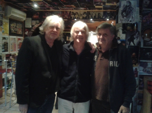 Top Topham, Jim McCarthy, Mike Bravo - Italy october 2014