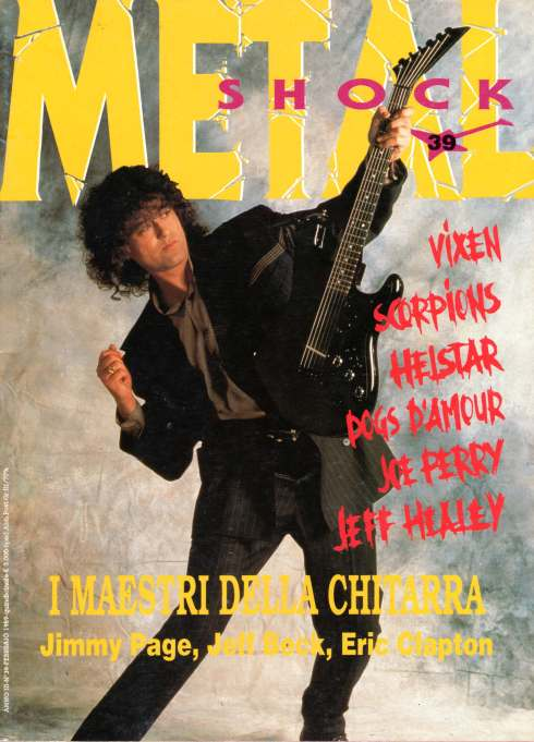 METAL SHOCK N 39 - feb 1989