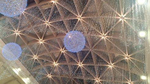 Grandemilia ceiling  dicembre 2014 (foto di TT)