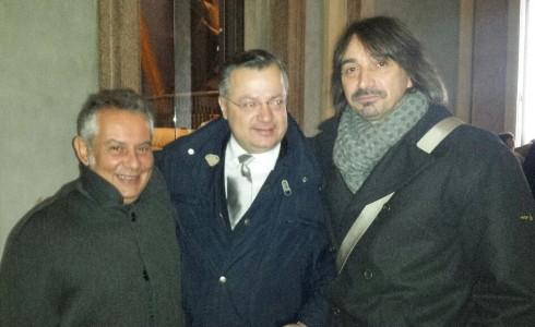 LEDHEADS in Milan: Alberto LG, Doc, Tim - dic 2014 - foto Groupie