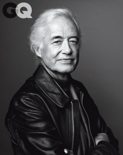 JIMMY PAGE GC magazine, decembre 2014 - PHOTO MARCO GOB