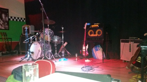 The stage - Happy Days Music Club - Fiesse (BS)