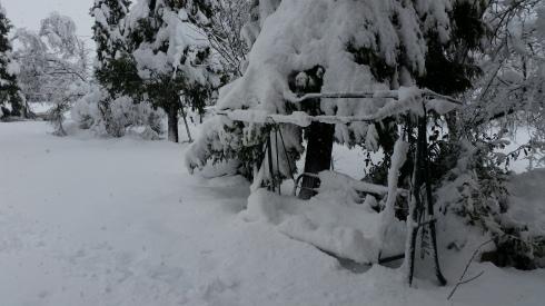 SNOWBOUND in Borgo Massenzio -  Domus Saura: la nevicata del 6 febbraio - foto di TT