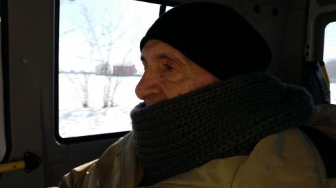 Il vecchio Brian imbacuccato - febbraio 2015
