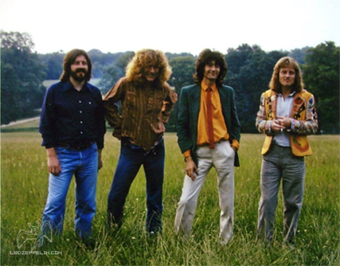 LZ 1979 promo photo session 2 - Hipgnosis