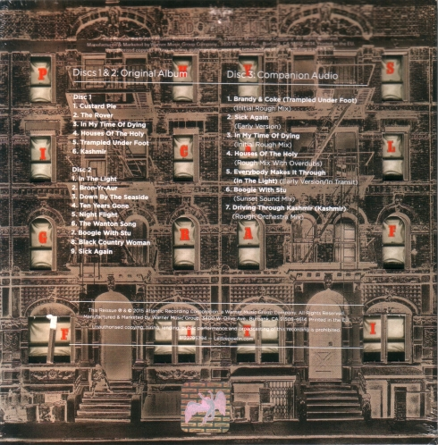 LED ZEPPELIN PHYSICAL GRAFFITI DELUXE EDITION