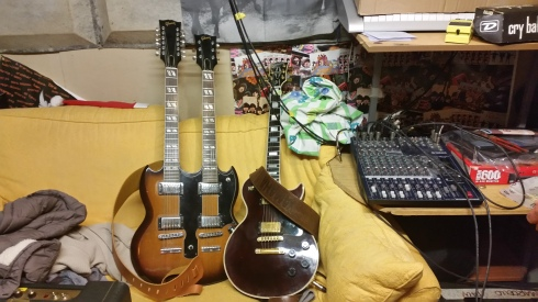 Tim's guitars