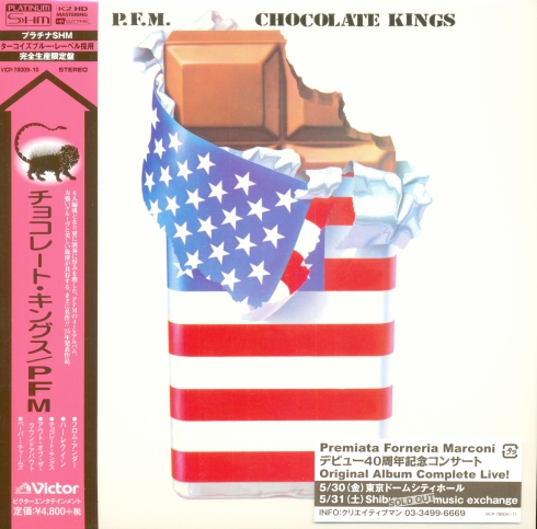 P-01 - Chocolate Kings PT-SHM Front + OBI + Sticker