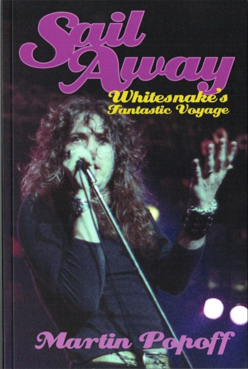 Whitesnake sail away book
