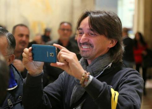 Taking the picture - Tim Vicenza 24-4-2015 - PHOTO RAFFAELLA VISMARA