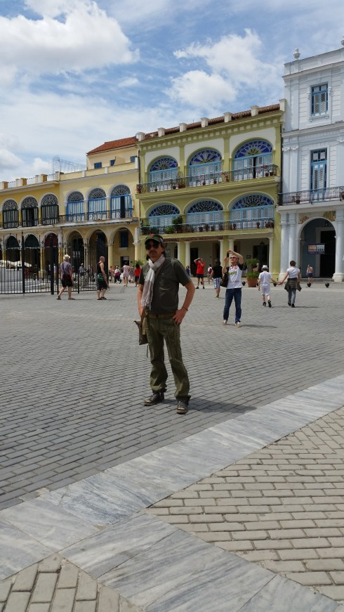 Il Che Guevara dei poveri (Poor man Che Guevara) Playa Veja, Habana (photo Saura T.)