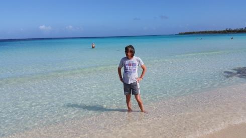 Meditabondo al mar dei Caraibi (photo Saura T)