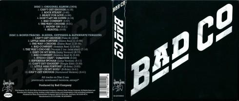 Bad Company - Bad Company (Deluxe Edition) - Digipack