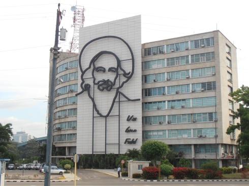 Camilo Cienfuegos -  Plaza De La Revoluciòn (foto Saura T.)