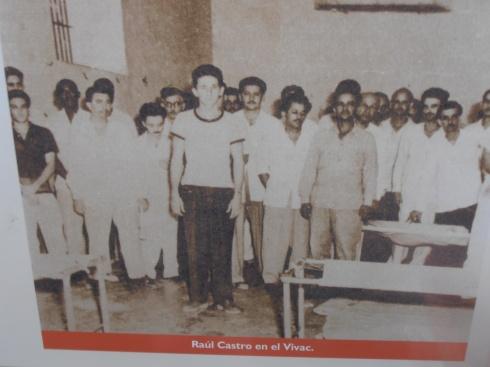 Raul Castro giovanissimo e imprigionato - Museo Moncada (photo Saura Terenziani)