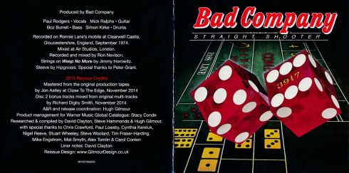 Bad Company - Straight Shooter - Booklet (1-10)