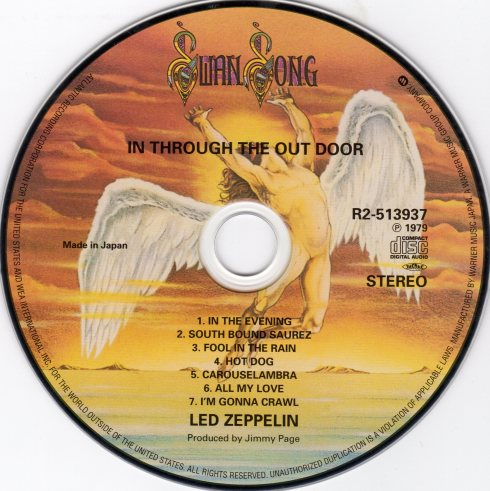 Led Zeppelin - Definitive Collection (CD 09 In Through The Out Door) (Japan) - CD