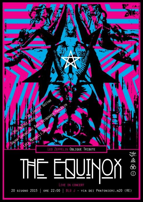 THE EQUINOX Locandina Reggio 20-6-2015
