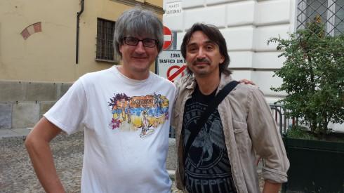 Claudio C. & Tim (foto Saura T)