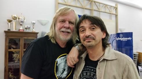 RW & Tim T. - Asti 8 july 2015 - backstage (foto Saura T)