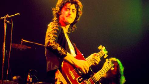 Jimmy Page 1973 - copyright David Redfern / Redferns.