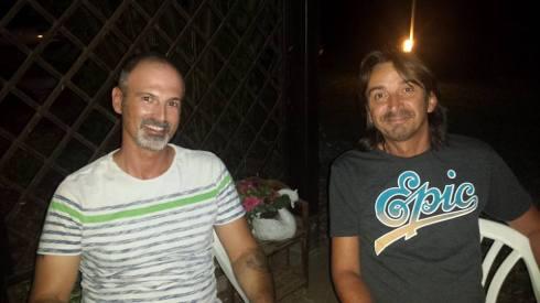 Pol & Tim - agosto 2015 - photo Saura T