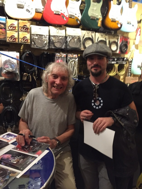 ALBERT LEE & LORENZ in Denmark Street