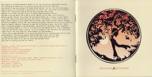 arianna antinori CD 020
