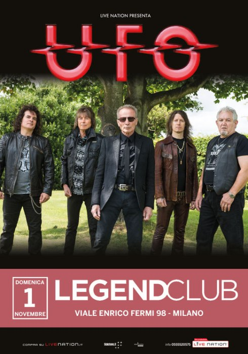 UFO - Milano, Legend Club,1-11-2015