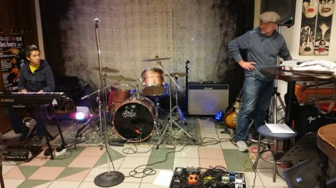 THE EQUINOX- Soundcheck alla PERLA 4/12/2015 -Foto TT