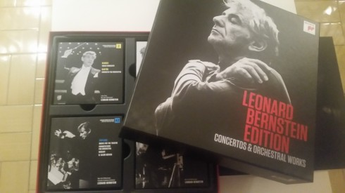 Box set Leonard Bernstein