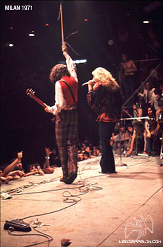 Led Zeppelin MIlano 5-7-1971