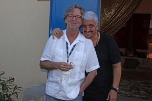 Eric Clapton & Pino Daniele - photo Luiciano Viti