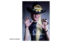 Johnny Winter Pistoia 1988 - photo Luciano Viti