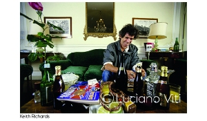Keith Richards - photo Luciano Viti